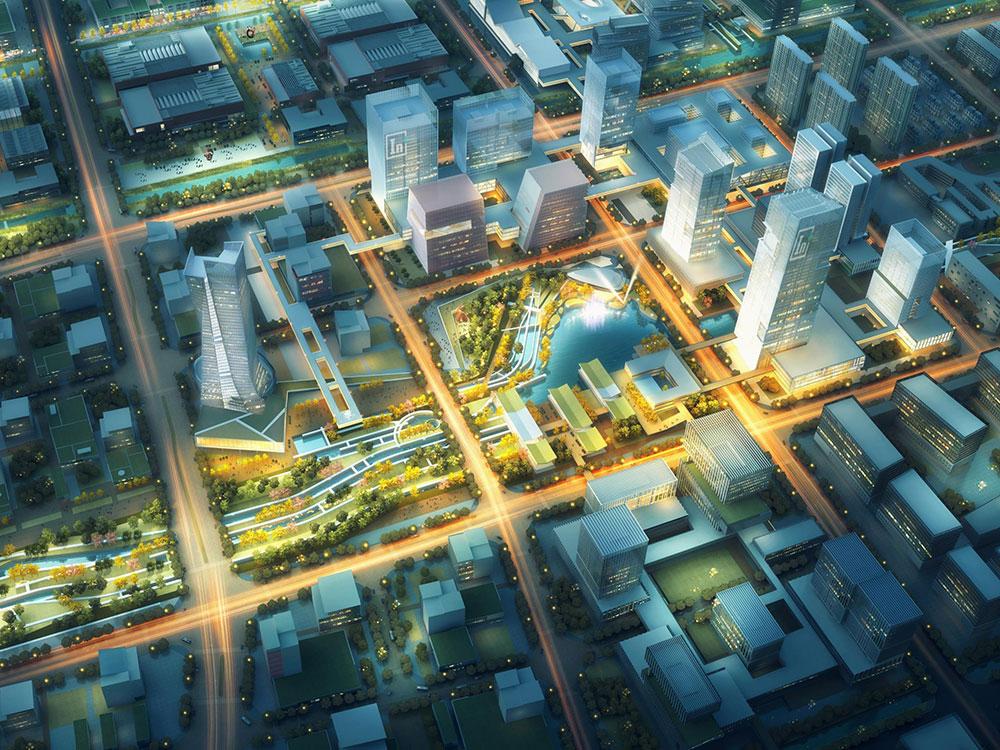 长沙市南部片区核心区城市设计