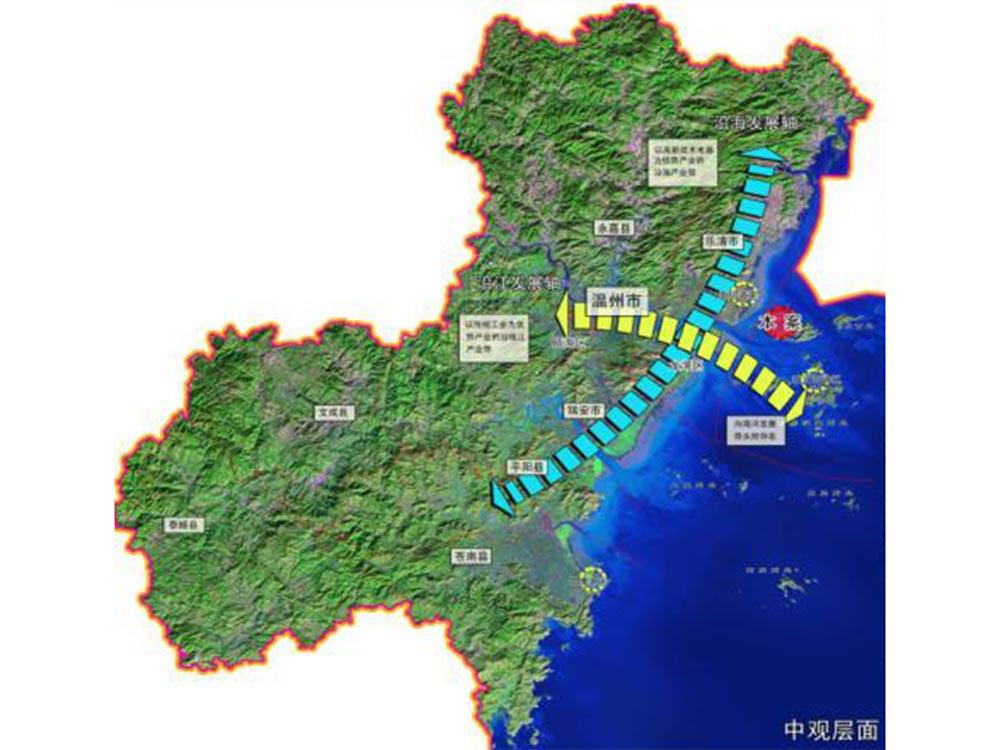 浙江温州市小门岛石化产业基地市政工程设计