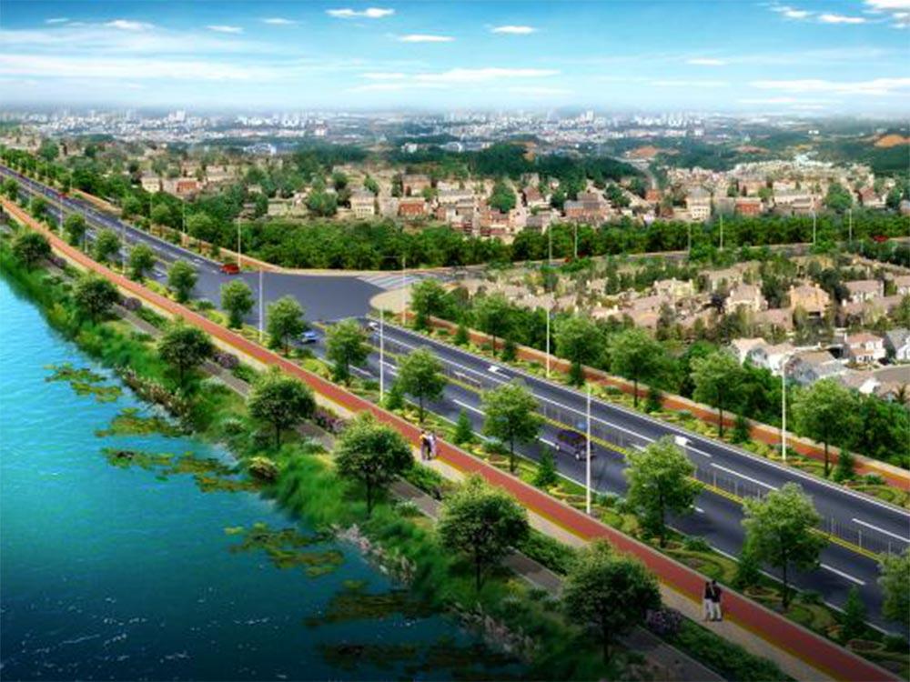 湖北松滋市环湖旅游路网工程(EPC)项目