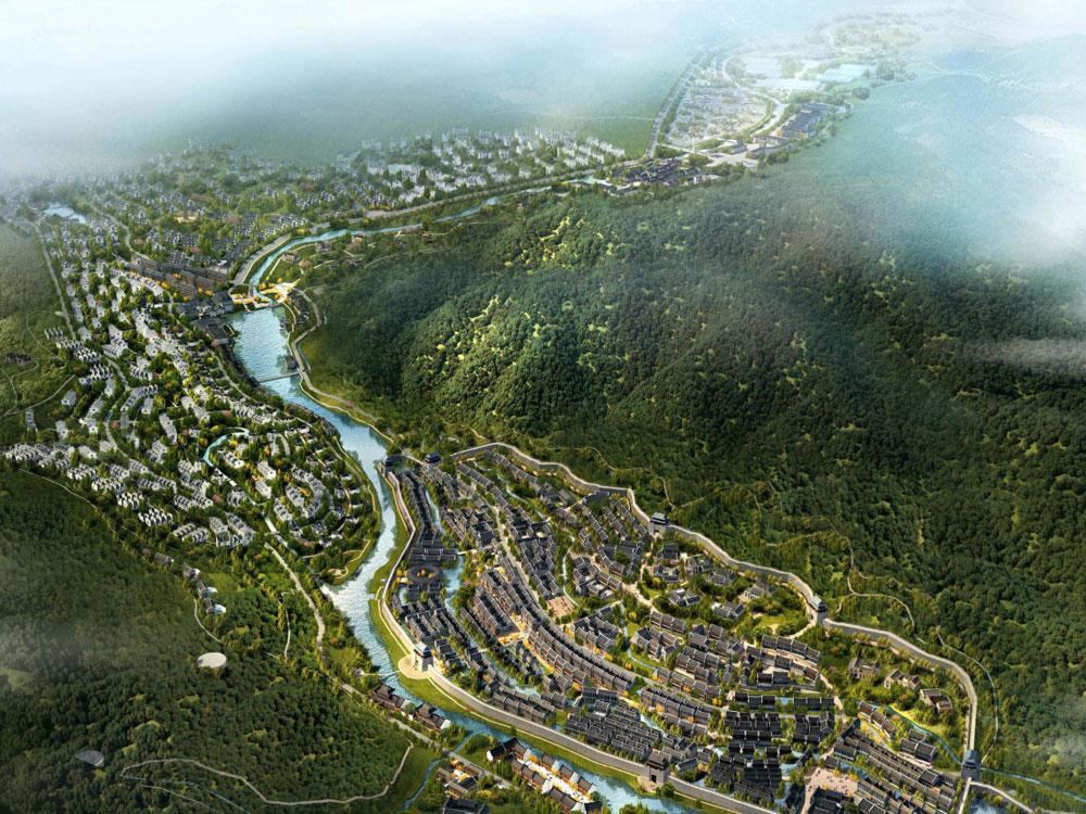 湘潭县涓水绿色经济带总体规划
